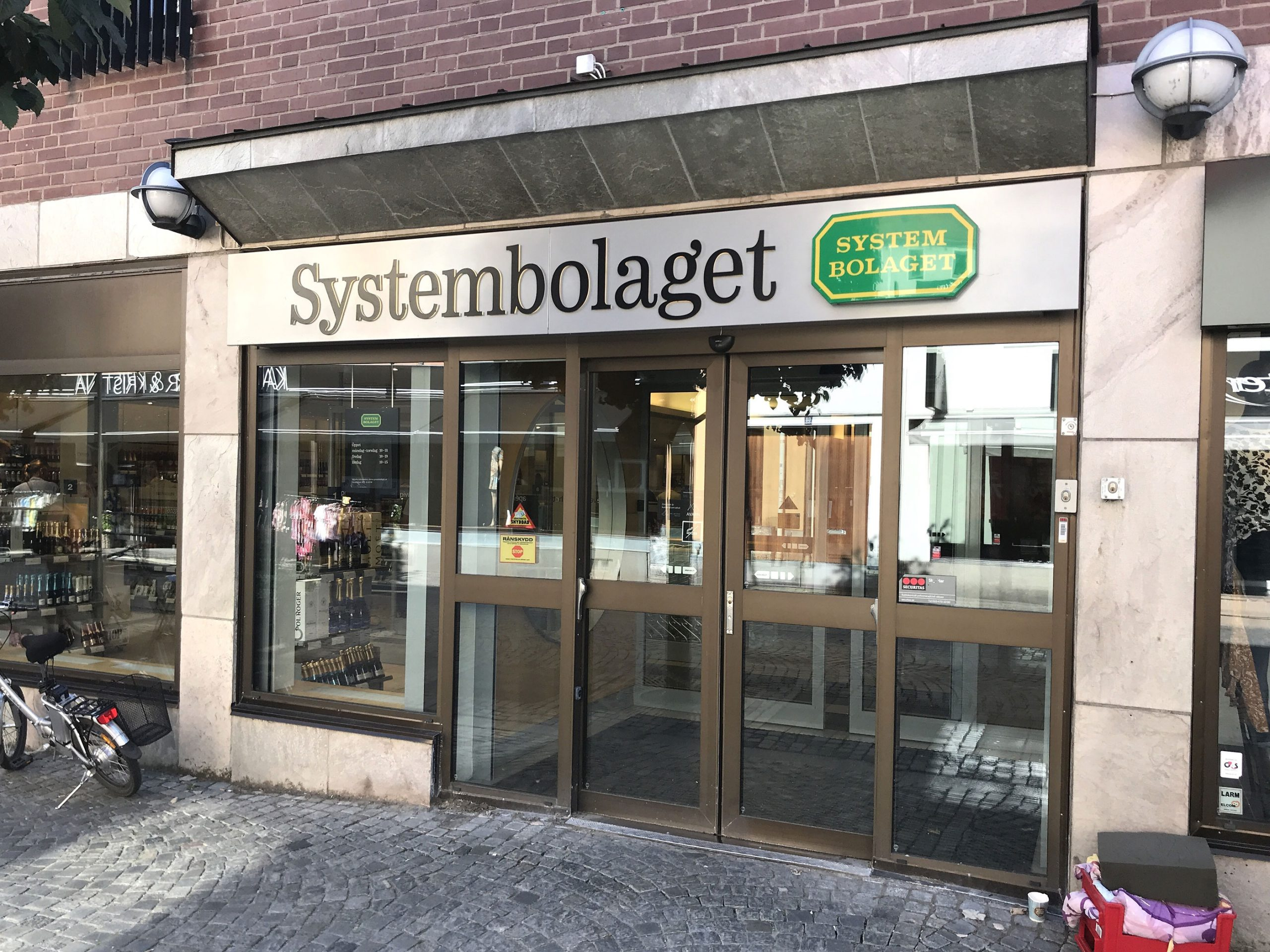 Systembolaget Sverige Stockholm utsalg alkohol vin sprit ol priser