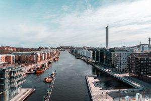 leilighet Sverige Stockholm ved sjoen moderne leilighetsbygg