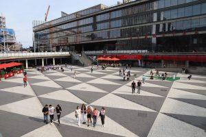 Norrmalmstorget torg Stockholm shopping butikker kjopesenter