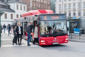 buss Stockholm kollektivtrafikk offentlig trafikk bussruter