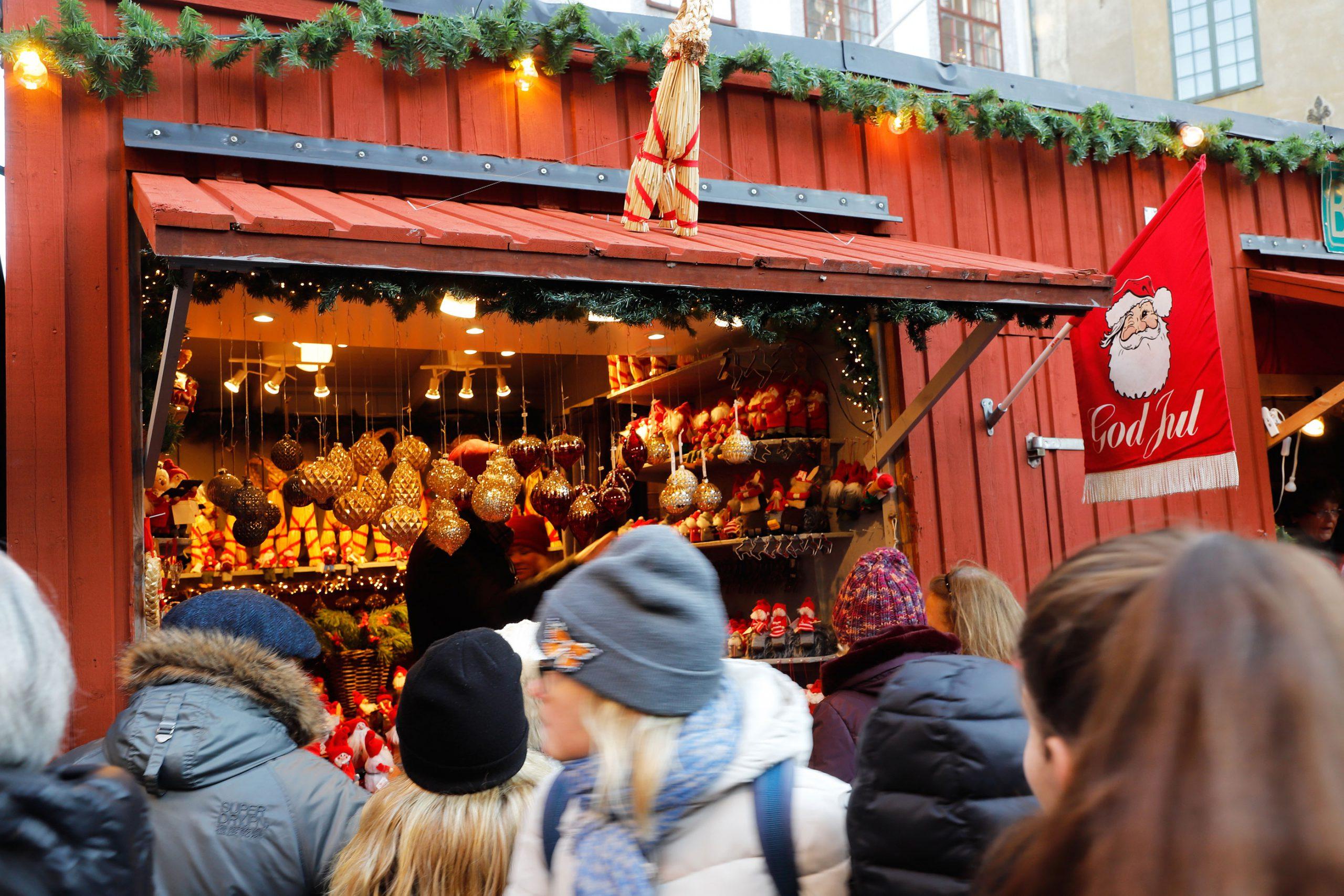 boder julemarked utvalg Stockholm Gamla Stan