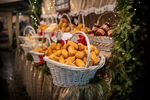 brod kaker bakverk julemarked Stockholm Sverige Gamla Stan