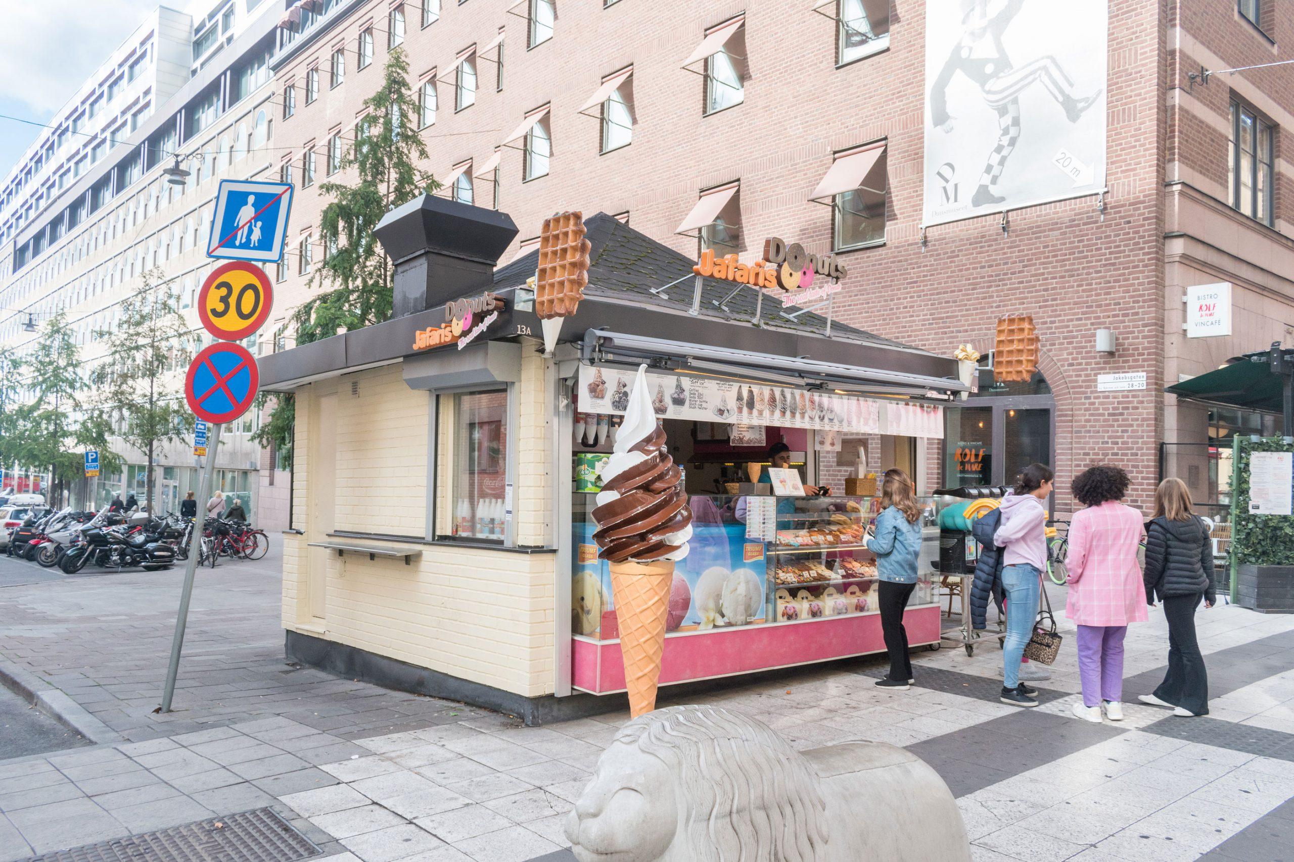 mat Sverige is billig levekostnader restauranter Stockholm