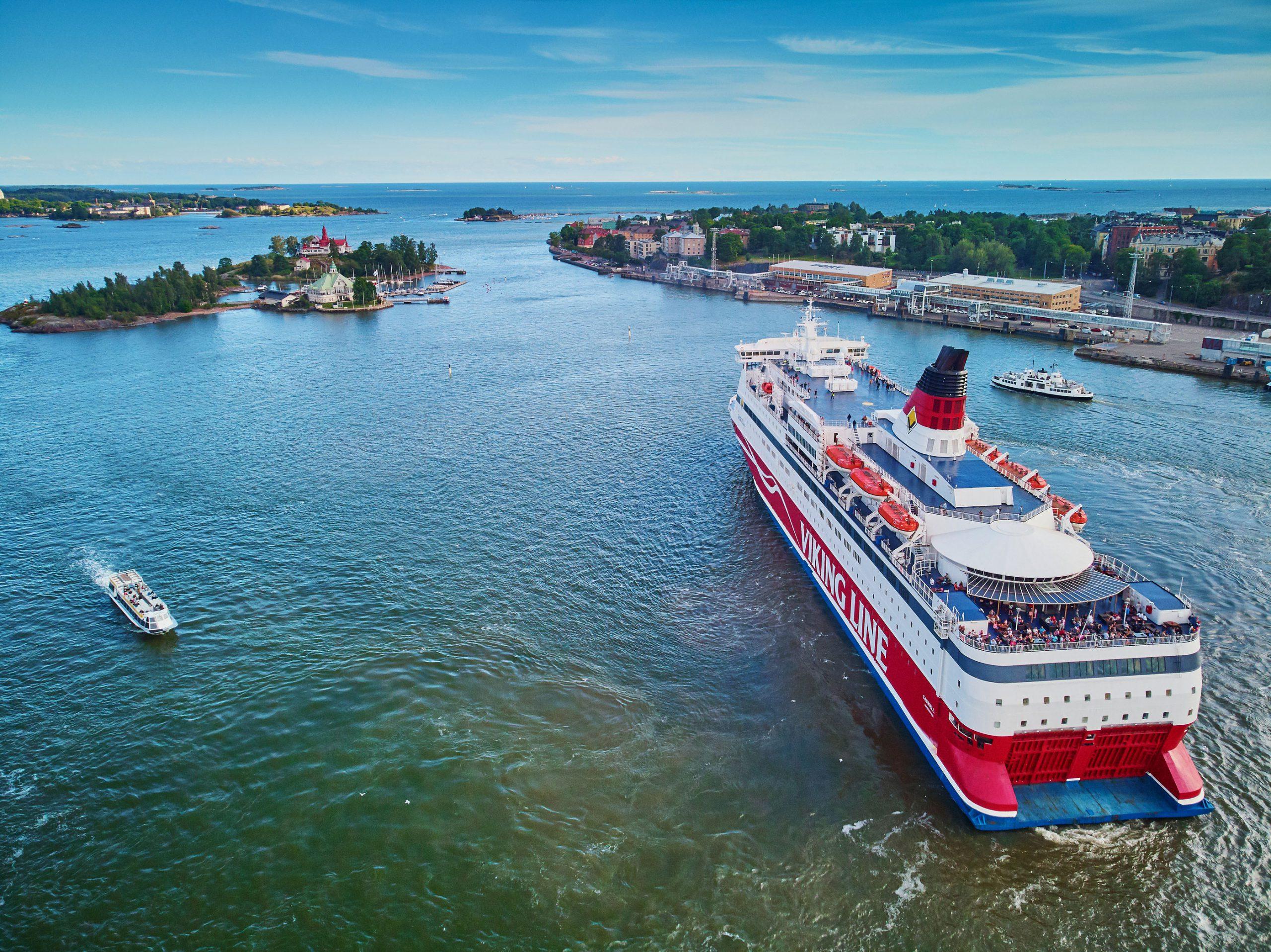 Viking Line Stockholm ferge til Helsinki Finland